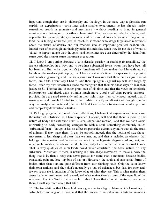 an analysis of the discourse on metaphysics by leibniz Publisher's summary the discourse on metaphysics is a short treatise by  gottfried wilhelm leibniz in which he develops a philosophy concerning physical .