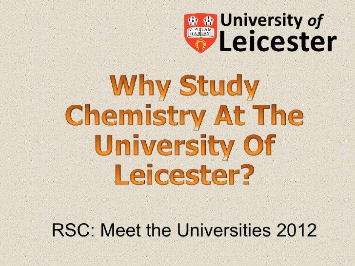 University ofLeicester