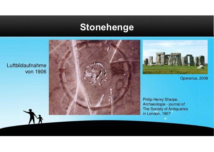 StonehengeLuftbildaufnahme         von 1906                                                      Operarius, 2008          ...