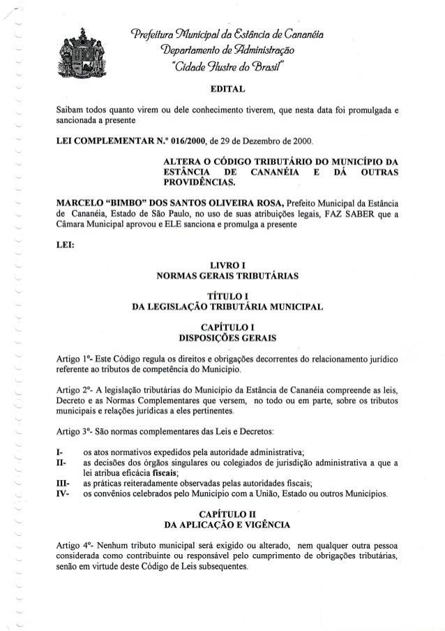 """Prefeitura Municipal da Estância de Cananéía departamento de Administração """"Cidade ^lustre do brasil EDITAL Saibam todos q..."""