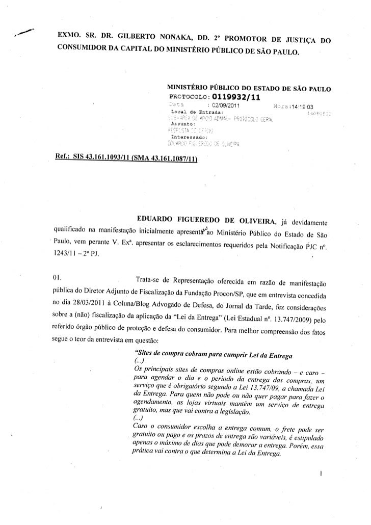 ,2t2    EXMO SR. I)R. GILBERTO NONAKA, DD. 2o pRoMoroR                                                           DE JUSTIÇ...
