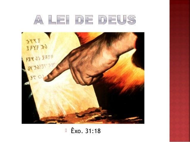  Êxo. 31:18