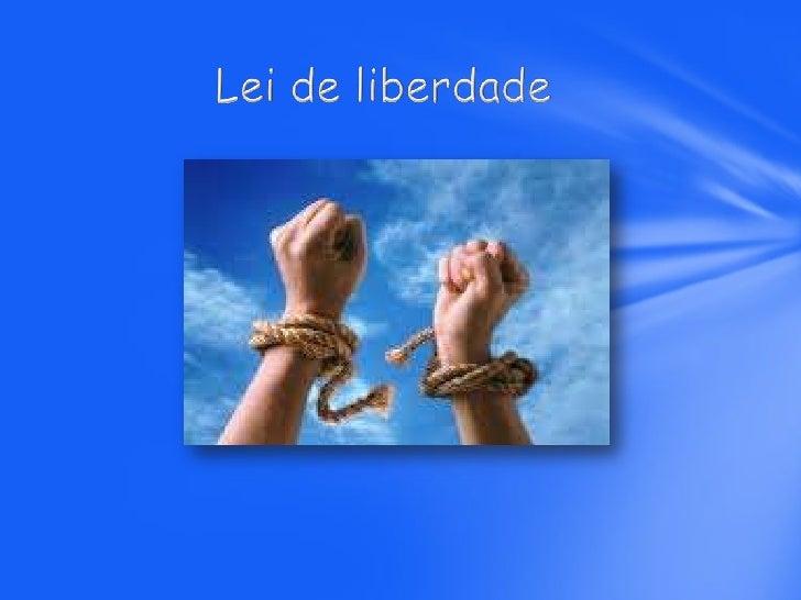 O que é ser livre?