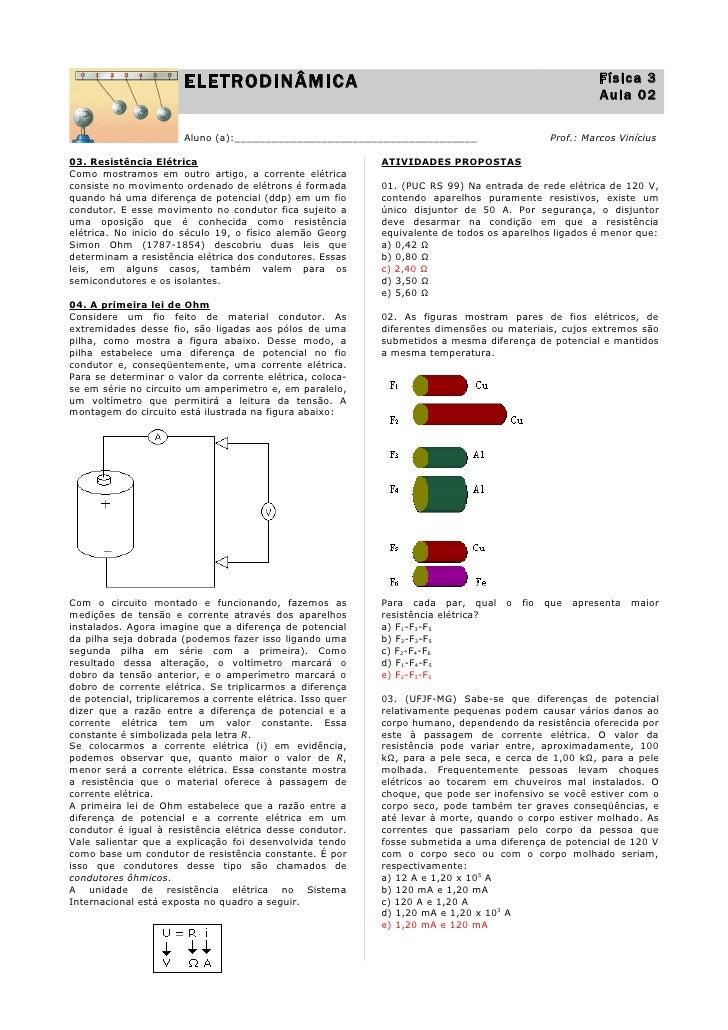 ELETRODINÂMICA                                                                    Física 3                                ...