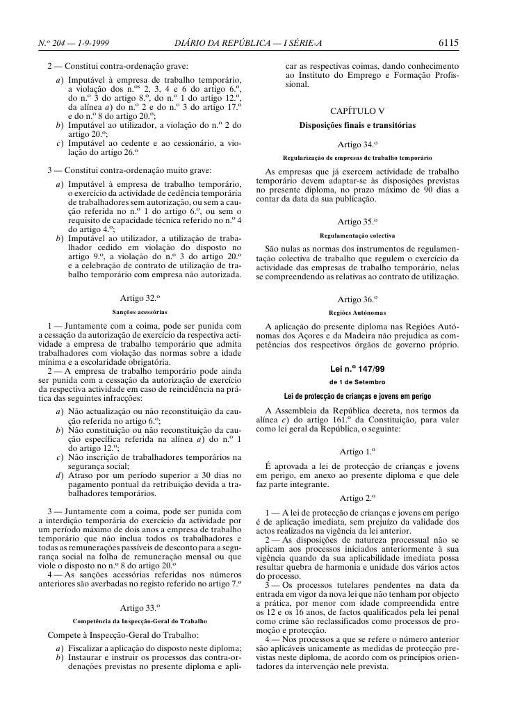 N.o 204 — 1-9-1999                        DIÁRIO DA REPÚBLICA — I SÉRIE-A                                              611...