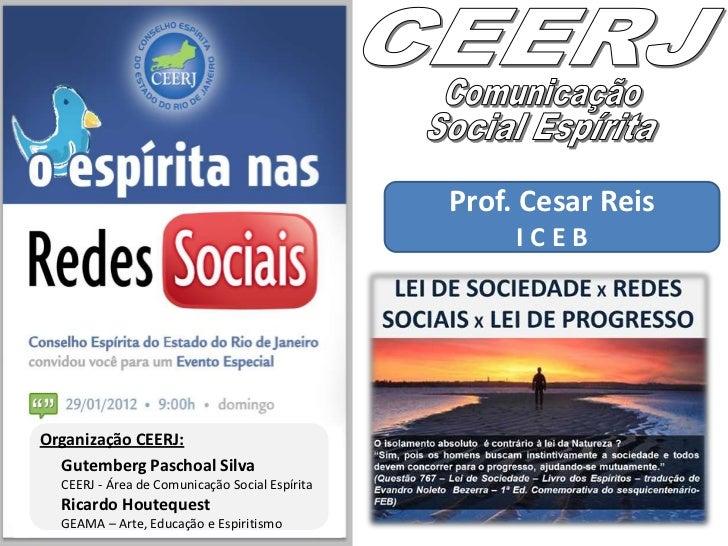 O Espírita nas Redes SociaisSubject: Redes Sociais e Midias SociaisTitle: Lei de Sociedade x Redes Sociais x Lei doProgres...