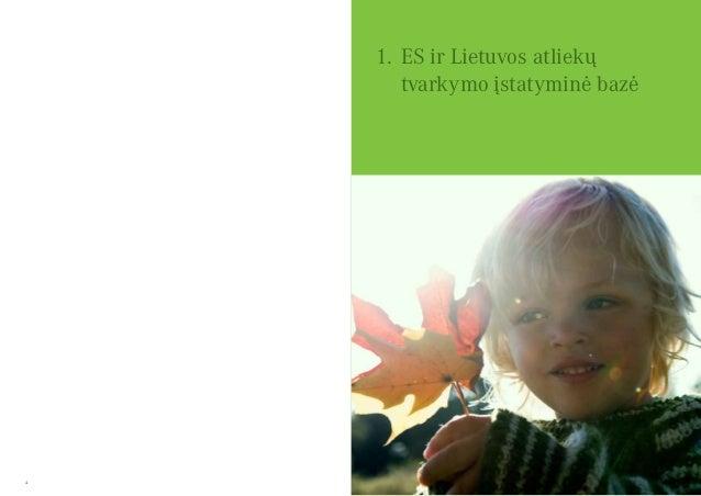 4 5 1.ES ir Lietuvos atliekų tvarkymo įstatyminė bazė