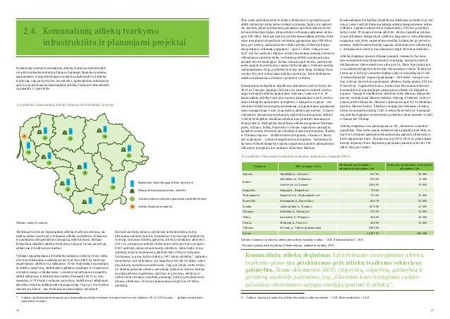 20 21 2.4. Komunalinių atliekų tvarkymo infrastruktūra ir planuojami projektai Šiuo metu antrinių Lietuvos žaliavų rūšiav...