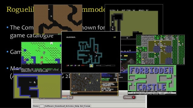 Multiplayer Roguelike for the Commodore 64