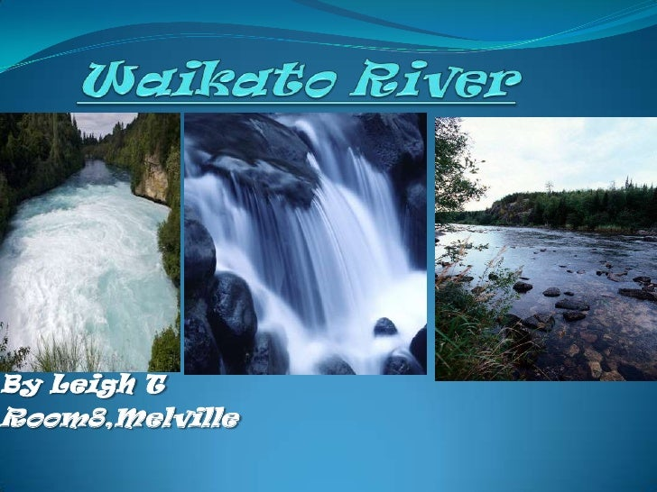 Waikato River <br />By Leigh T<br />Room8,Melville<br />
