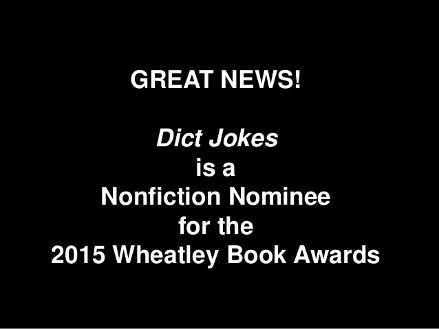 Leighann Lord's Dict Jokes June 8-12, 2015 Slide 2
