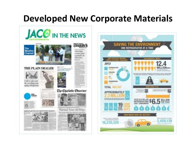 Developed New Corporate Materials