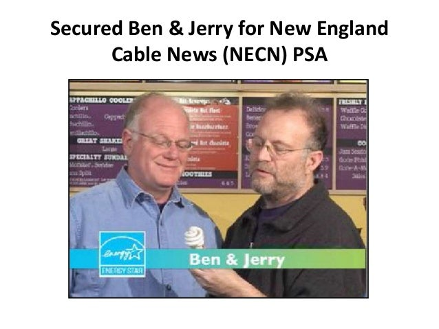 Secured Ben & Jerry for New England Cable News (NECN) PSA