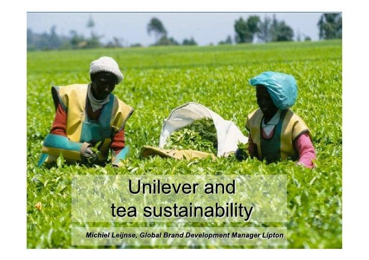 TheProduction 2004 of3.3 million tons                       Global                              World +/- Tea             ...