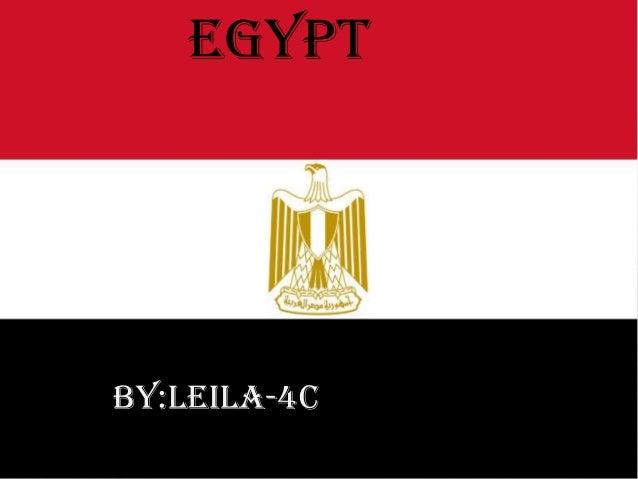 EGYPT  BY:LEILA-4C