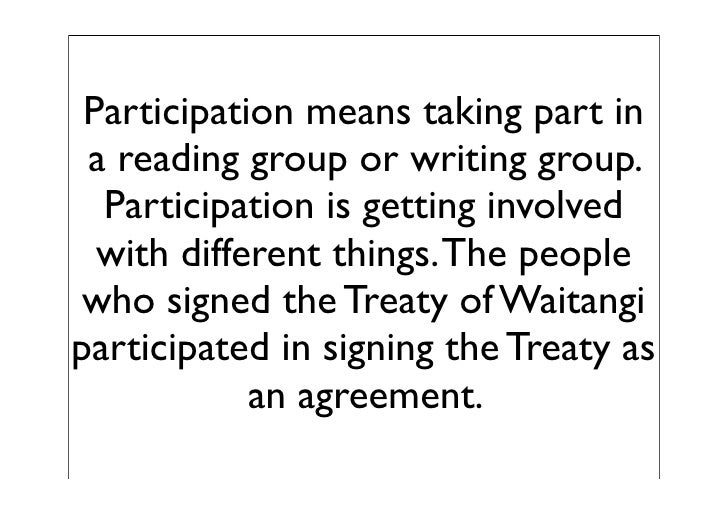 Treaty of waitangi essay