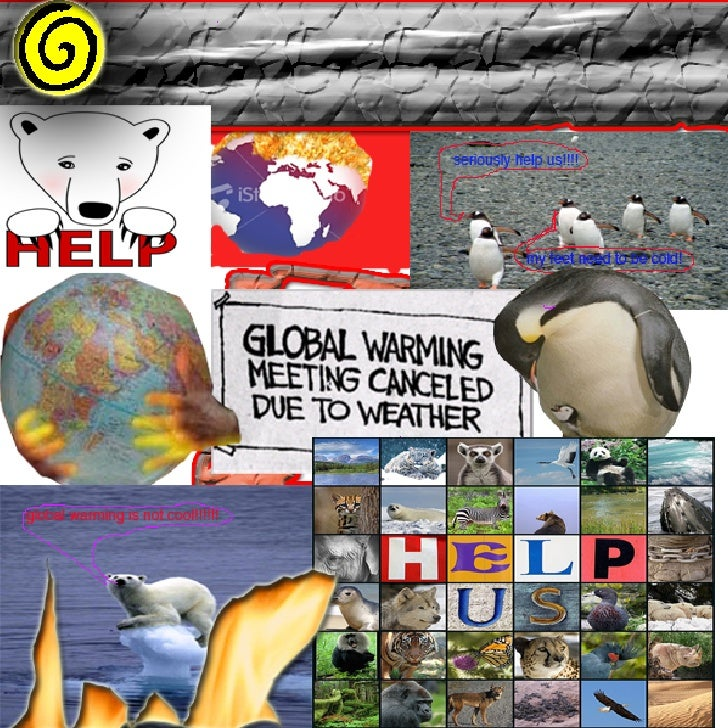 leila's global warming Collage