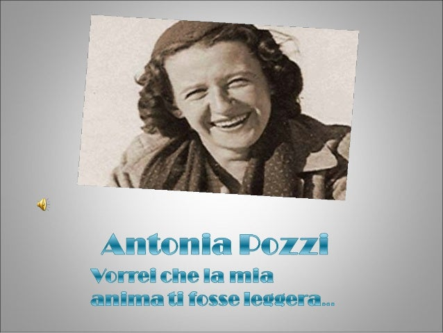 Antonia nasce a Milano, il 13febbraio 1912. Era fragile eminuta, si riprese presto mamantenne però sempre in séqualcosa di...