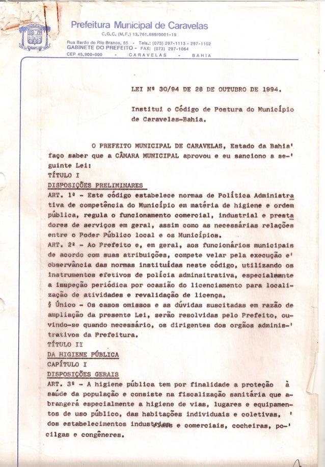 ••a7-1 r - - t :~C -~r, Prefeitura Municipal de Caravelasi,I C.G.C. (M.F.) 13.761.689/0001-19Rua Barão do Rio Branco, 65 -...
