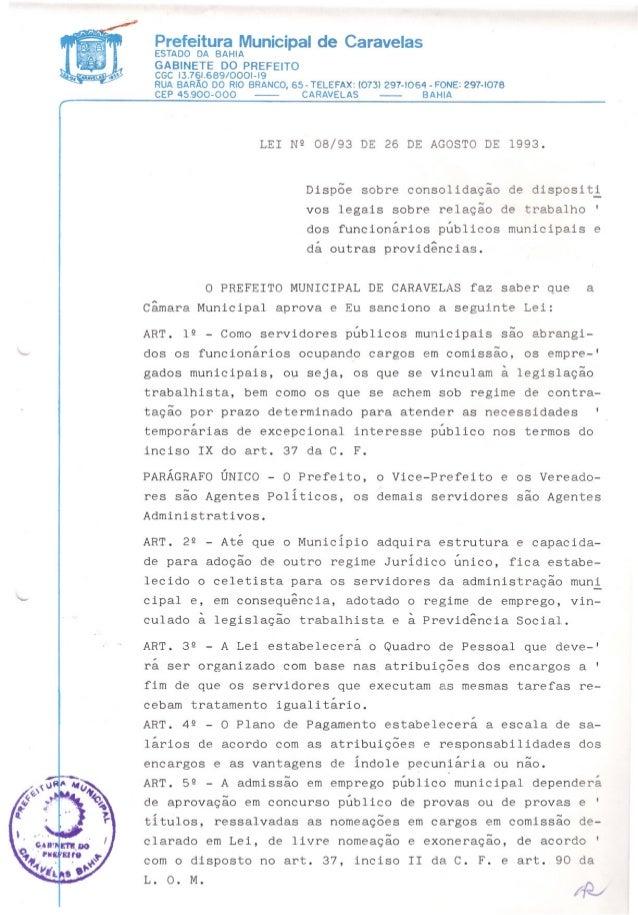 Prefeitura Municipal de CaravelasESTADO DA BAHIAGABINETE DO PREFEITOCGC 13.761.689/0001-19RUA BARÃO DO RIO BRANCO, 65- TEL...