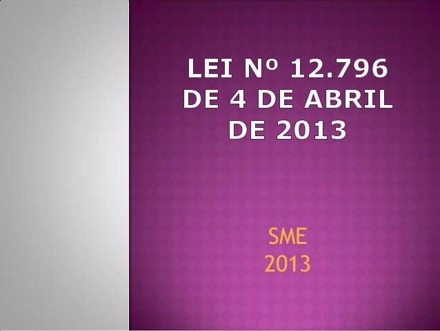 SME2013