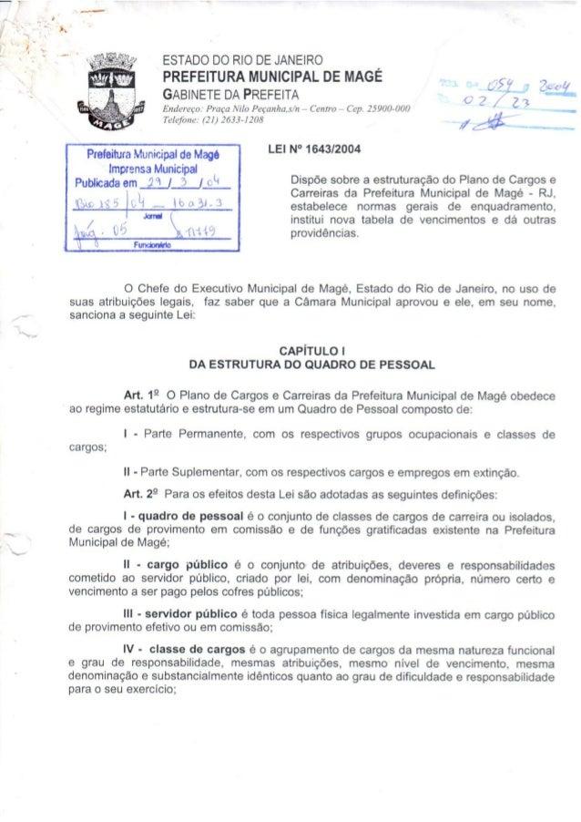 """_n_     ESTADO DO RIO DE JANEIRO 1 PREFEITURA MUNICIPAL DE MAGE (JS-í,  _ 7M GABINETE DA PREFEITA o 7   """"a """" Endereço:  Pr..."""