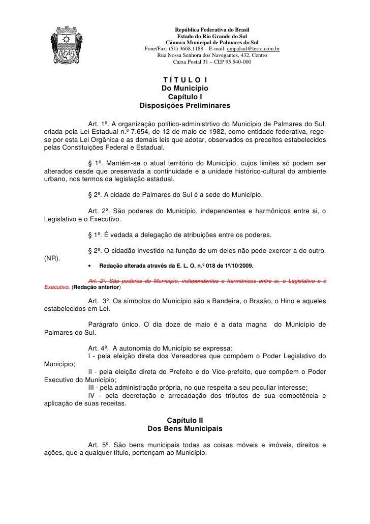 República Federativa do Brasil                                                   Estado do Rio Grande do Sul              ...