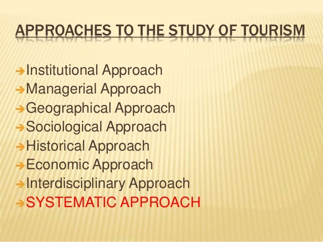 a study of tourism Study tourism in australia study in australia universities and colleges with international student links - complete guide where to study at college and university in australia.