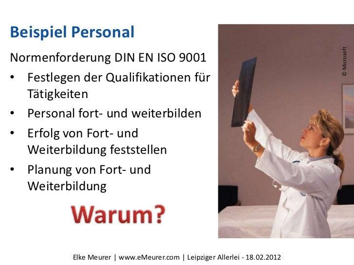 Beispiel Personal                                                                            © MicrosoftNormenforderung DI...