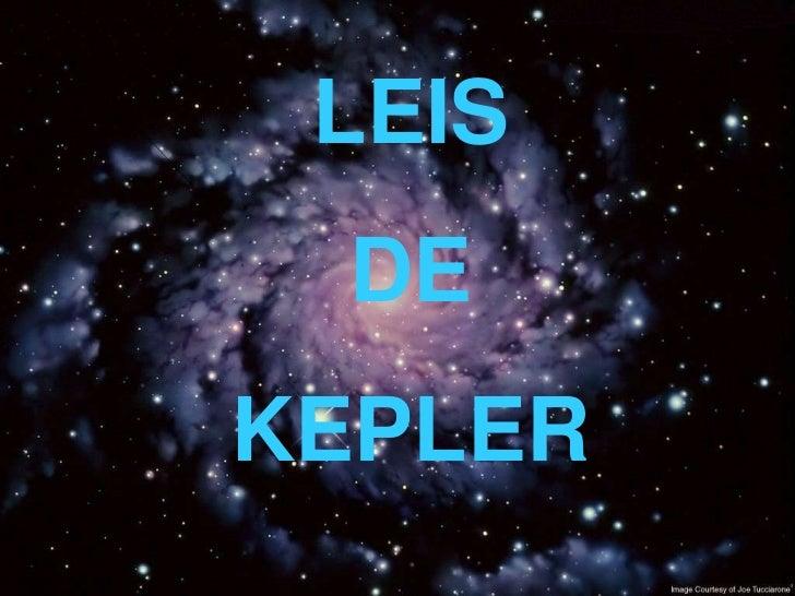 LEIS DEKEPLER