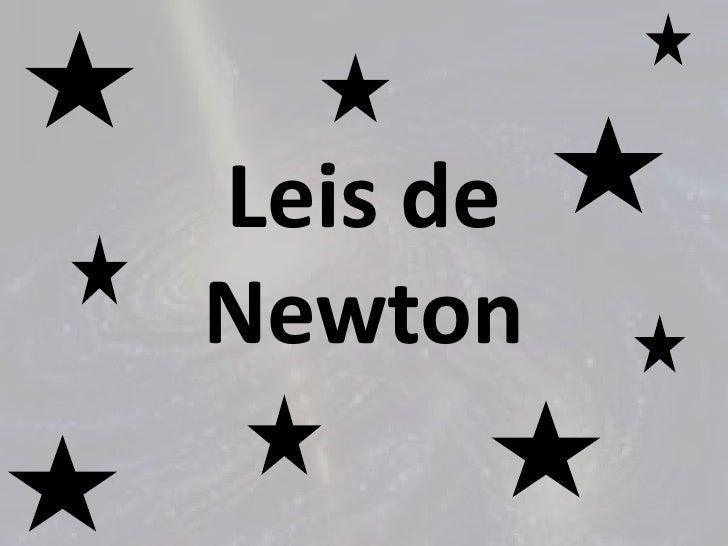 Leis deNewton