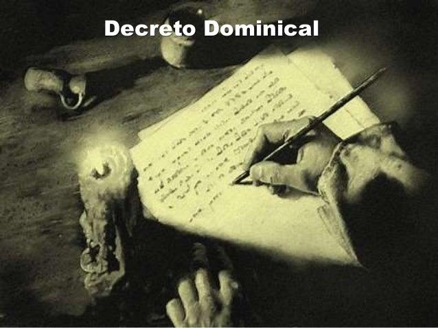 Decreto Dominical