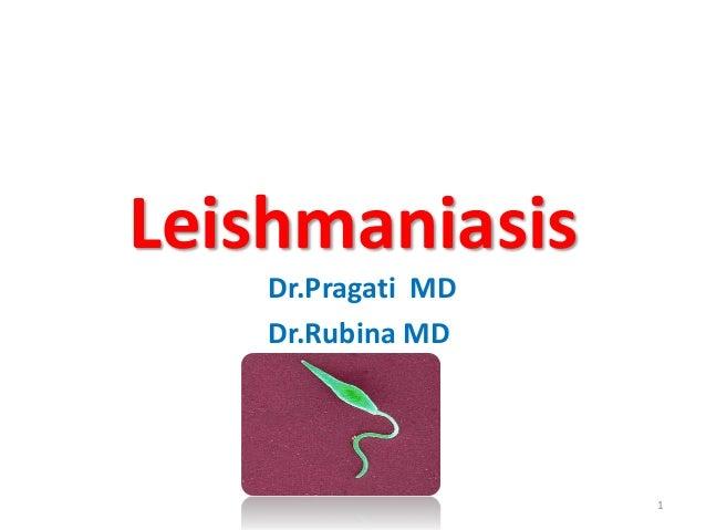 Leishmaniasis  Dr.Pragati MD  Dr.Rubina MD  1