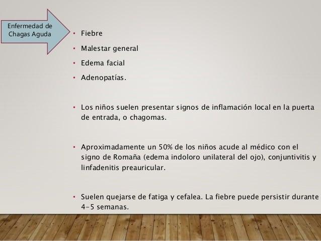 FASE AGUDA Nifurtimox y benzonidazol • La pauta terapéutica en los niños de 1-10 años es de 15-20 mg/kg/día divididos en c...