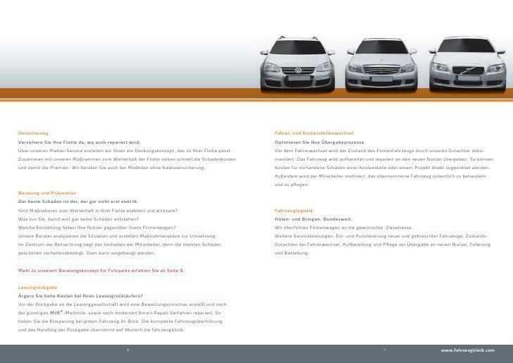 Versicherung                                                                                      Fahrer- und Kostenstelle...