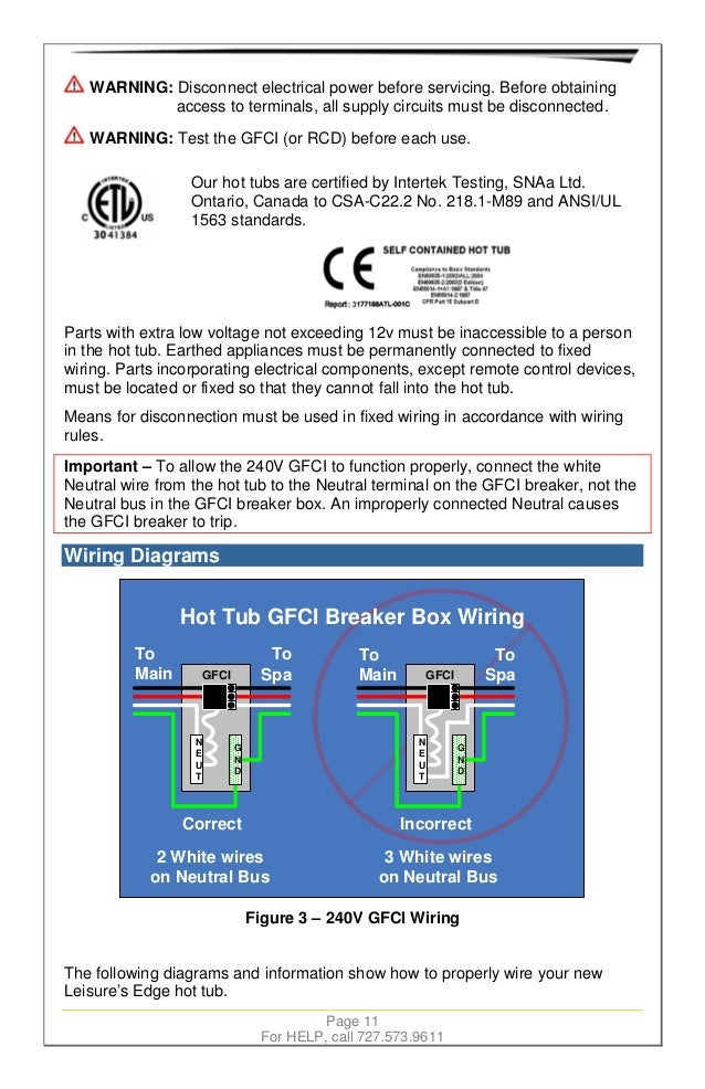 Wiring Diagram Furthermore How To Wire 50 Hot Tub Breaker On Square ...