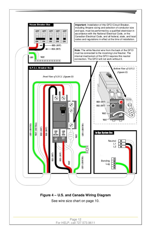 Hot Tub Wiring Diagram Eaton | Wiring Diagram  Wire Spa Wiring Diagram on