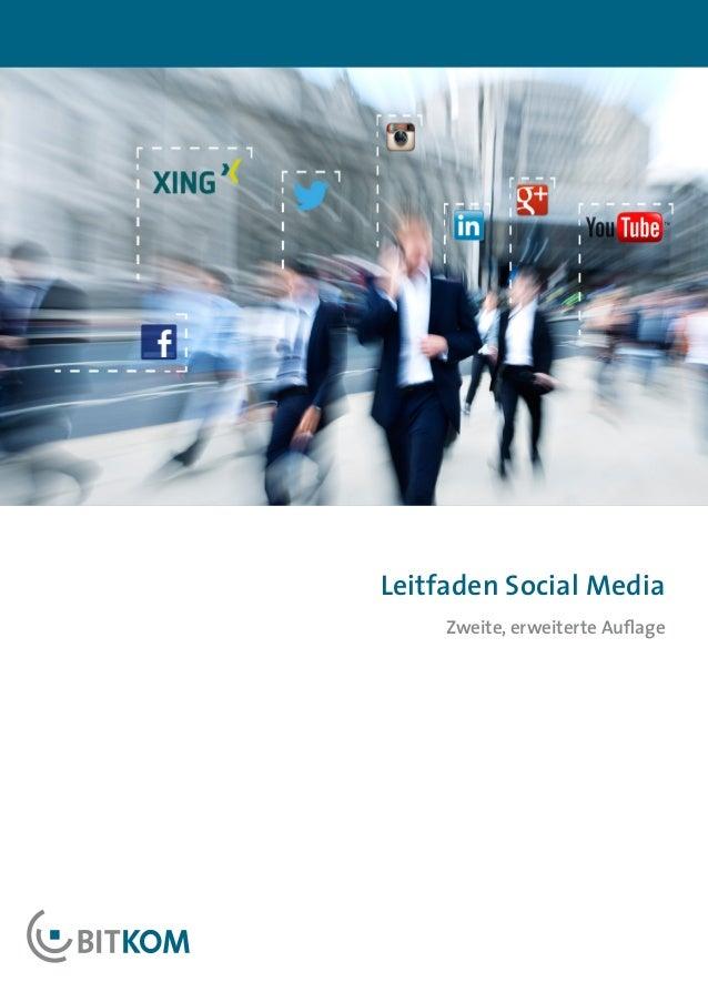 Leitfaden Social Media     Zweite, erweiterte Auflage