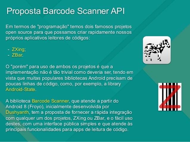 Leitor de Códigos no Android com Barcode Scanner API - ZXing
