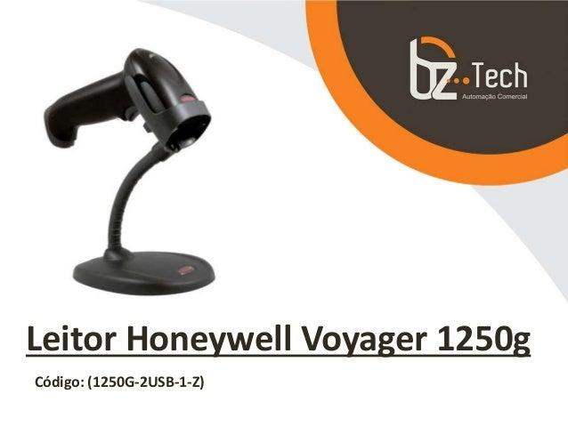Leitor Honeywell Voyager 1250g Código: (1250G-2USB-1-Z)