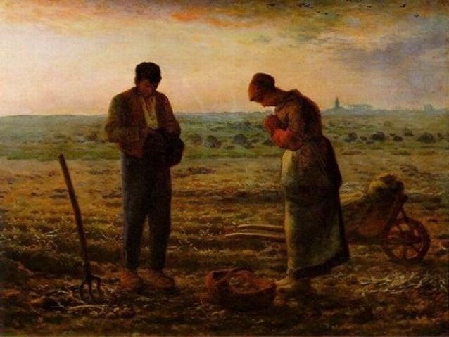 EL ANGELUSEL ANGELUS Quadro do RealismoQuadro do RealismoFrancês de 1859Francês de 1859 Autor: Jean FrançoisAutor: Jean ...