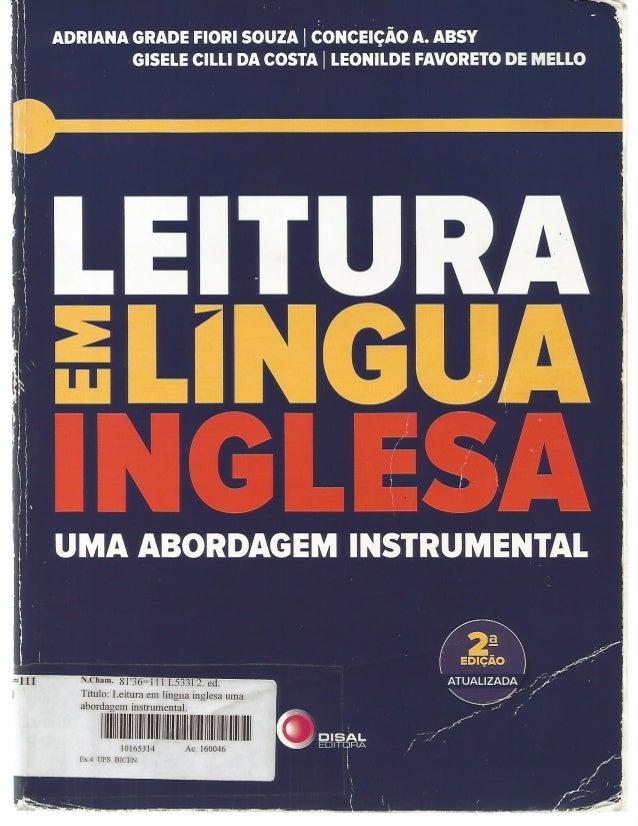 Leitura em lngua inglesa uma abordagem instrumental adriana grade fandeluxe Gallery