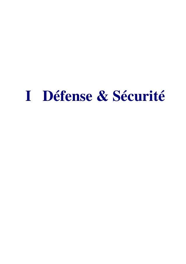 13 Centre Européen de Recherches Internationales & Stratégiques I Défense & Sécurité
