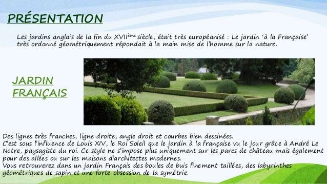 Jardin anglais - Effroyables jardins histoire des arts ...