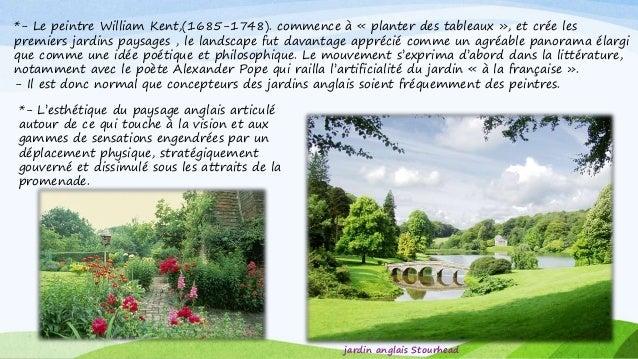 Jardin anglais for Conception jardin anglais
