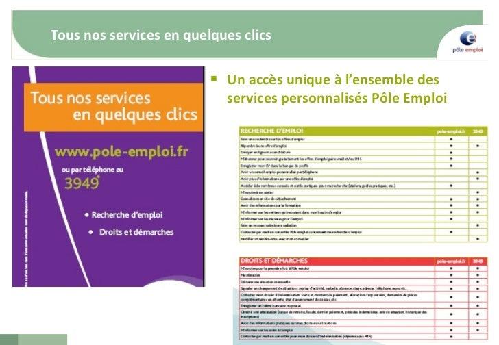 emploi et internet - p u00f4le emploi