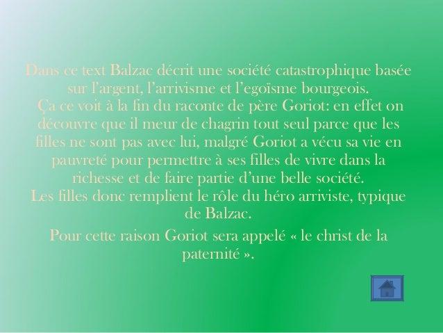 Le jeu des points de vue: le réalisme de Balzac, Flaubert et Stendhal Slide 3