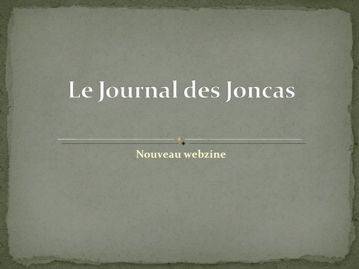 Nouveau webzine