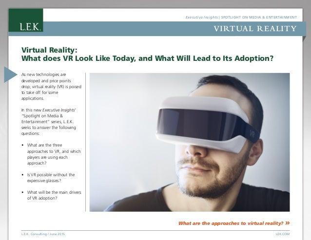94f53172acdb Spotlight on Media   Entertainment  Virtual Reality