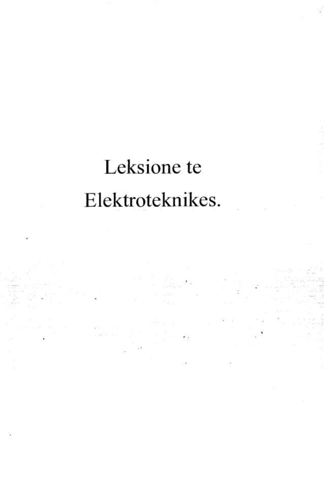 Leksione te Elektrotcėknikes.